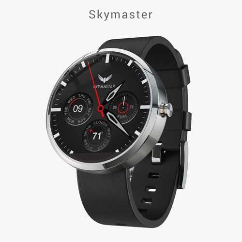 Android-wear-pilot-watch-face