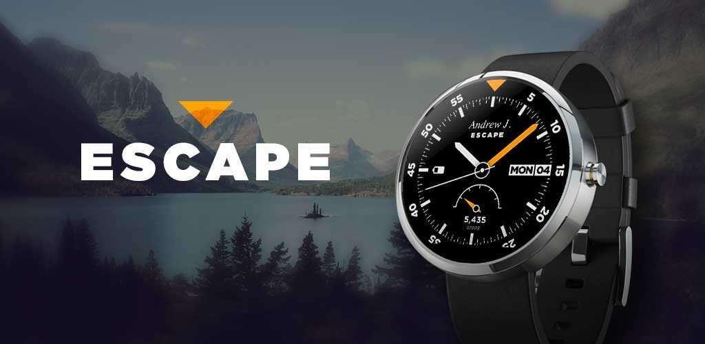 Escape-outdoor-watch-face