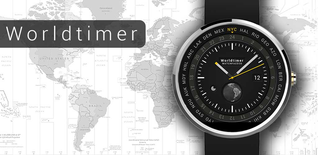 Worldtimer-watchface