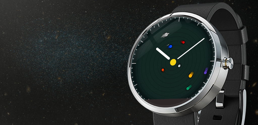 Watch-face-Android-Wear-Planets