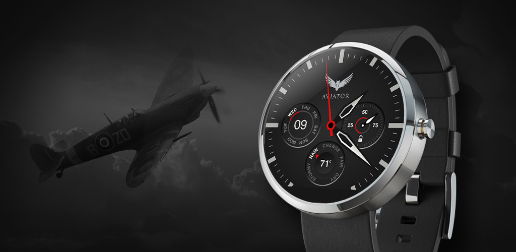 watch face pilot aviator android wear