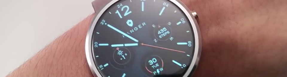Video review on Ranger watch face