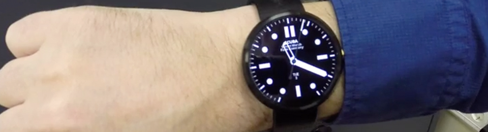Top 5 watch faces Android Wear video review