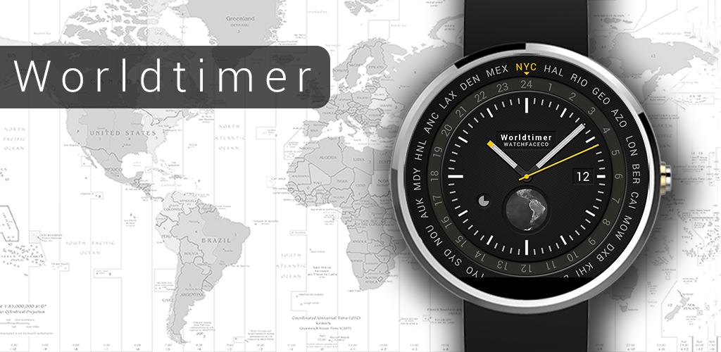 Android-Wear-world-timer-watch-face