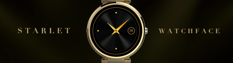 Starlet Ladies' Watch Face launched on Play Store
