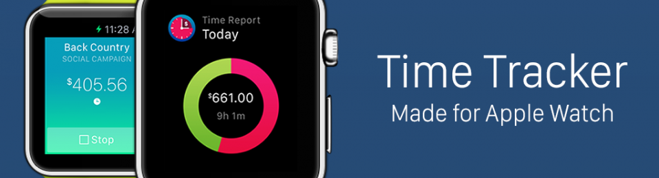 Time Tracker for Apple Watch released on App Store today
