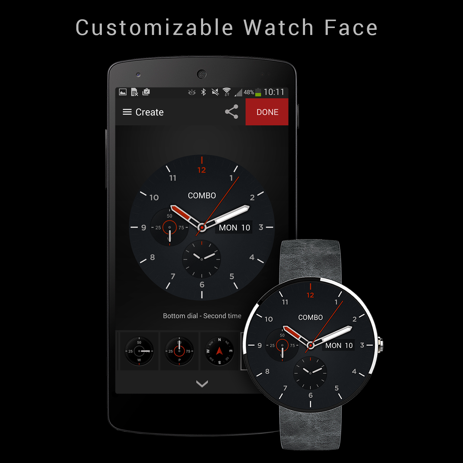 Combo-Watch-Maker-Android