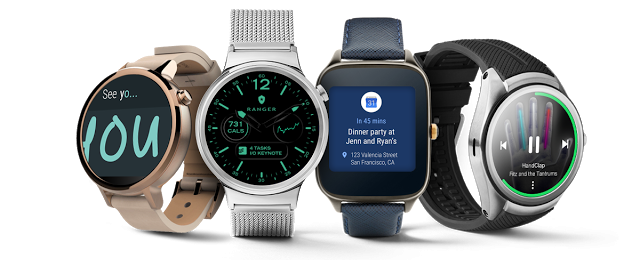 Ranger Military Watch Face for Android Wear 2.0 featured in keynote presentation of Google I/O